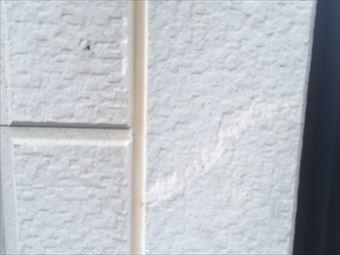 伊勢崎市三室町N様外壁パテ埋後