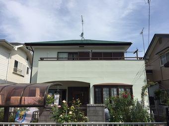 前橋市屋根外壁塗装完工アンケート写真