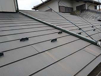 吉岡町 屋根塗装前