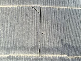 前橋市広瀬町屋根材の破損