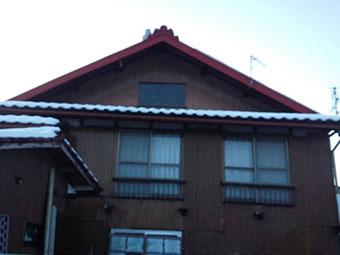群馬県 屋根 積雪2