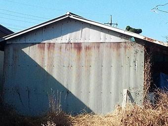 群馬 トタン屋根塗装見積り サビ