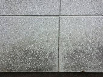 群馬 外壁屋根塗装 現場確認 外壁汚れ