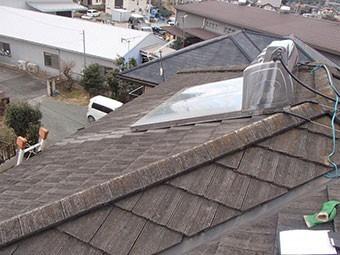 みどり市笠懸町T様邸屋根塗装4