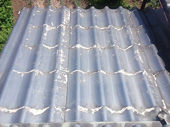 高崎市榛名町N様邸屋根塗装3