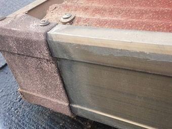 トタン屋根ボルト劣化