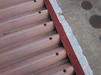 工場 折半屋根塗装