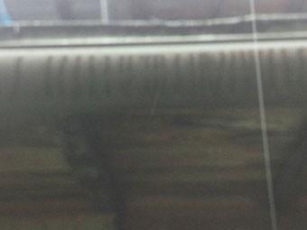 東吾妻の雨どいの状態