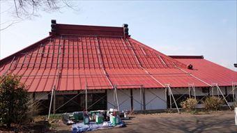 前橋市昌福寺様邸下塗り完了