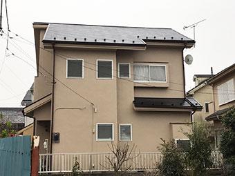 藤岡市 屋根外壁塗装 施工後
