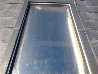 天窓で明かり取り 最近は雨漏りの為、悩みの種との事です|前橋市下小出町