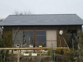 前橋市富士見町I様邸屋根塗装工事完工正面