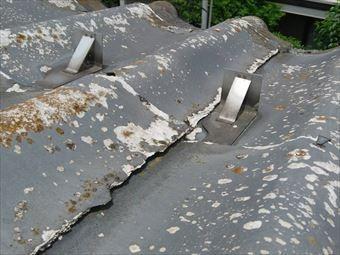 北群馬郡吉岡町M様邸屋根表面の剥がれ