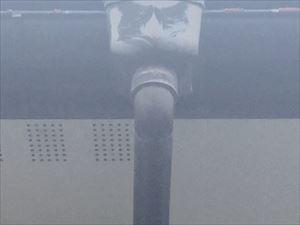 渋川市渋川雨樋の破損