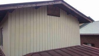高崎市北原町破風板塗装のはがれ