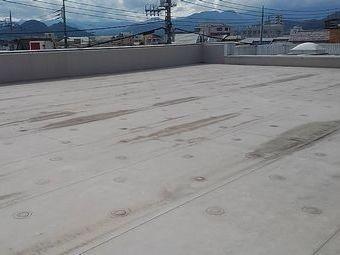 前橋市大胡町店舗屋上シート防水の状態