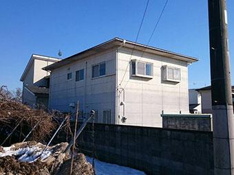前橋市富士見町で屋根の調査!雪止め設置のご依頼で伺いました