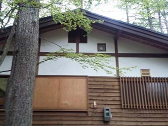 前橋 赤城山 別荘 屋根塗装