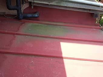高崎市根小屋町屋根塗装劣化部分