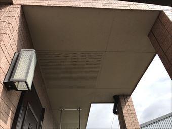 伊勢崎市三室町玄関上天井