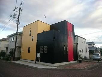 高崎市倉賀野町の外壁サイディングのお宅の工事完成写真