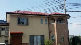 高崎市貝沢町で六角形の屋根のお宅の完工写真