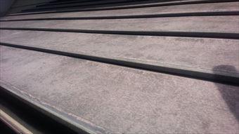 渋川市赤城町公民館玄関庇屋根