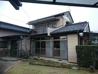 伊勢崎市鹿島町大きなお宅の施工前の全体写真