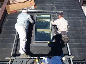 天窓のカバー工法