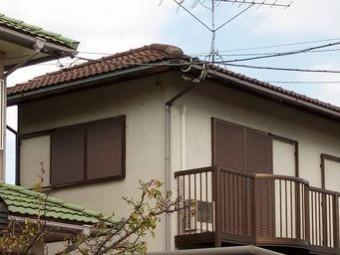 前橋市総社町屋根塗装前