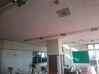 伊勢崎市堺町A学校天井