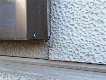 吾妻郡長野原町K様邸外壁塗装工事外壁割れ