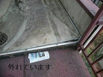 前橋市富士見町Aマンション防水シート4