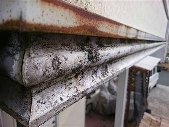 前橋市富士見町K様金属のサビ