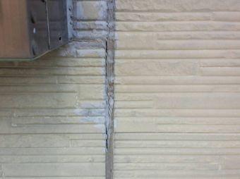 玉村町角淵D様外壁サイディングコーキングの劣化