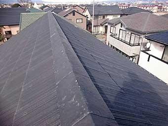 伊勢崎市スレート屋根
