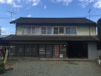 伊勢崎市屋根とトタン外壁塗装調査外観