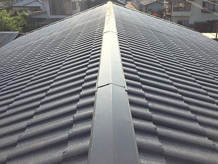 藤岡市 屋根塗装完工