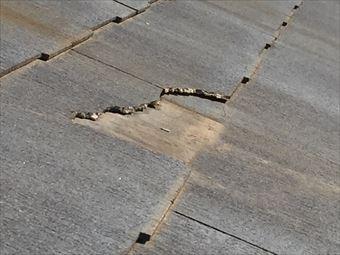 高崎市井野町屋根材の破損アップ