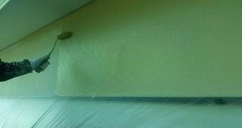 前橋市富士見町A様邸外壁中塗り