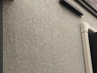 藤岡市 外壁モルタル 吹き付けタイル