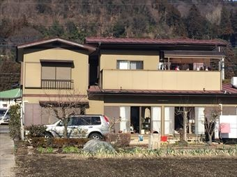 渋川市小野子S様邸屋根塗装工事