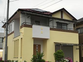 藤岡市 屋根外壁塗装完工