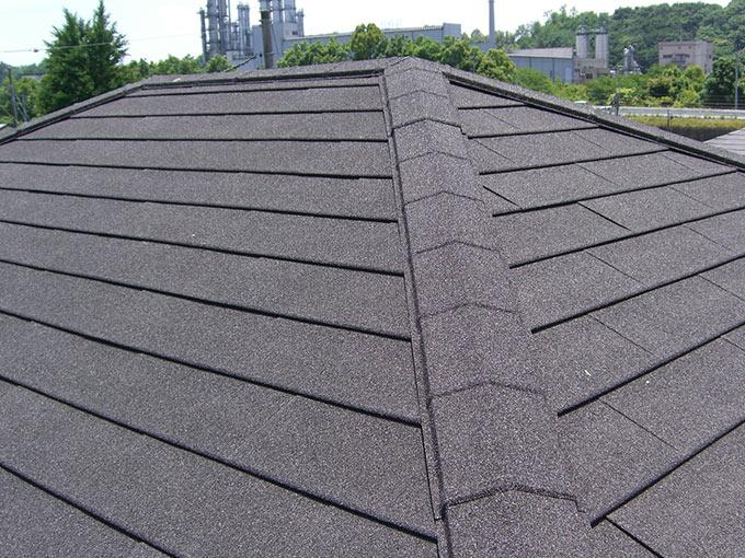安中市松井田町 ジンカリウム鋼板屋根カバー工法 完工