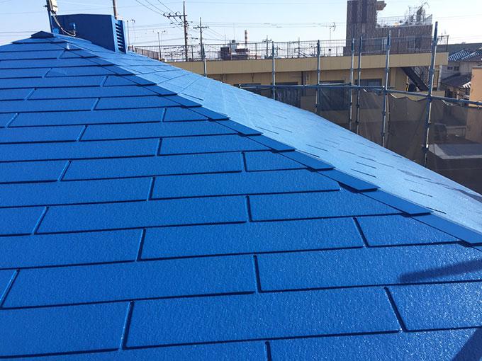 前橋市 スレート屋根塗装後