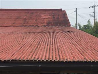 前橋市二之宮町K様邸屋根塗装塗装前南側