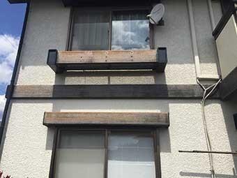 高崎市町屋町I様窓のフラワーボックス
