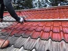 屋根下塗り吹き付け