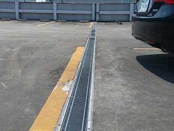 立体駐車場側溝