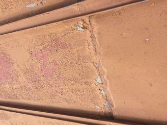 渋川市北橘町T様邸屋根塗装工事1階工事前